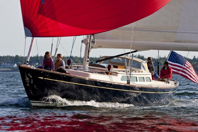 Test Sail: Morris 52